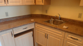 View of accessible one bedroom suite kitchen